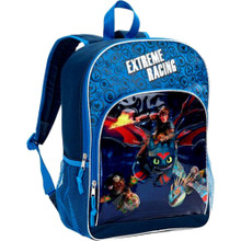 Backpack - How to Train your Dragon - Large 16 Inch - Blue - Extreme Racing