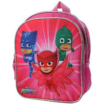 Backpack - PJ Masks - Small 10 Inch - Pink