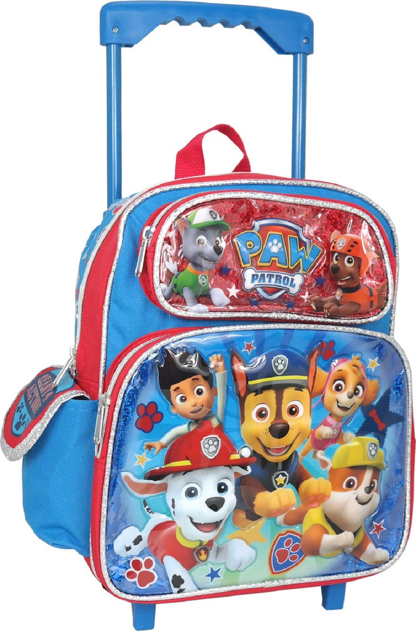Rolling Backpack - Paw Patrol - Small 12 Inch - Ryder2
