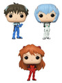 Evangelion Funko POP - Bundle of 3 - Animation