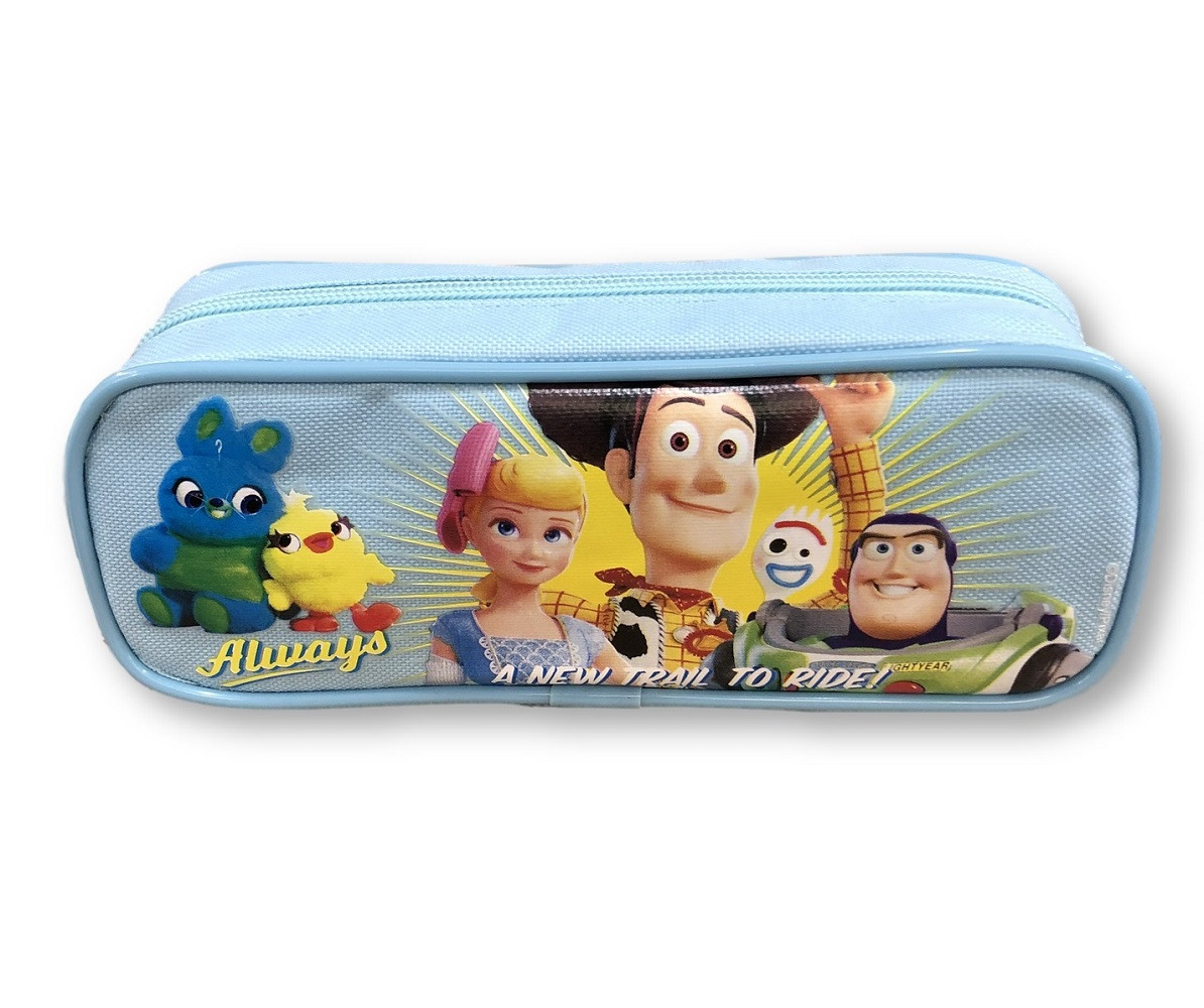 Pencil Case - Toy Story 4 - Light Blue