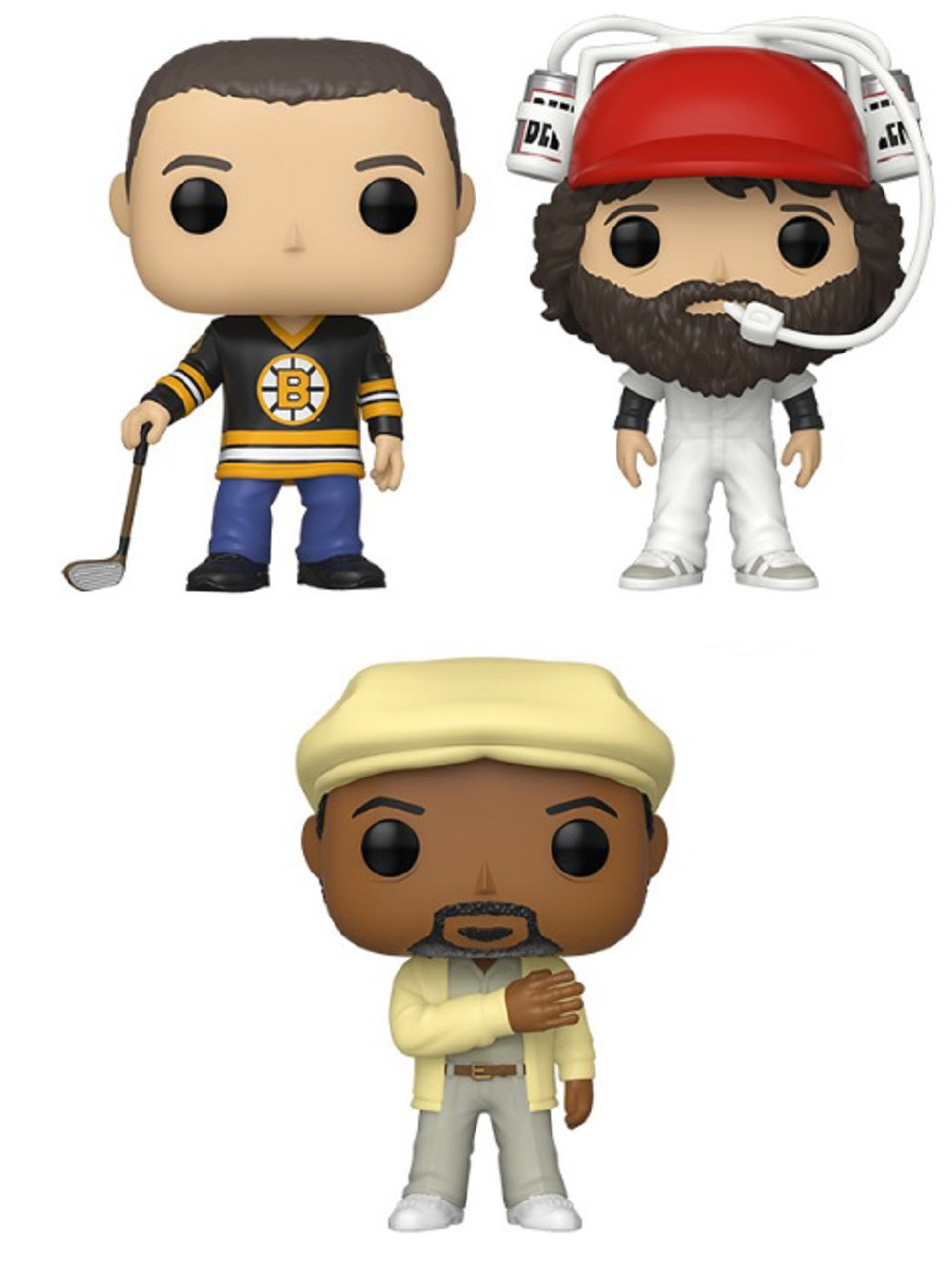 Happy Gilmore Funko POP - Bundle of 3 - Movies
