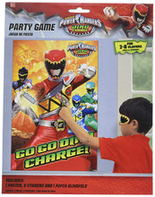 Party Game - Power Rangers - Dino Charge - 2-8 players