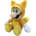 Kitsune Luigi Plush Toy - Super Mario Brothers - 9 Inch