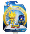 Action Figure - Sonic the Hedgehog - Super Sonic - 4 Inch - Wave 2
