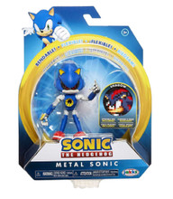 Action Figure - Sonic the Hedgehog - Metal Sonic - 4 Inch - Wave 2