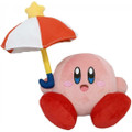 Kirby Parasol 2 Plush Toy - Kirby - 5 Inch