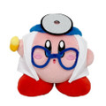 Kirby Doctor Plush Toy - Kirby - 5 Inch