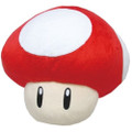 Super Mushroom Pillow Plush - Super Mario Brothers - 16 Inch