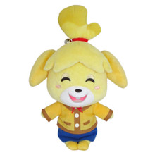 Smiling Isabelle Plush Toy Animal Crossing 6 Inch