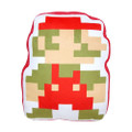 Mario 8 Bit Pillow Plush - Super Mario Brothers - 14 Inch
