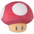 30th Mushroom Pillow Plush - Super Mario Brothers - 14 Inch