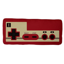 30th Controller Pillow Plush - Super Mario Brothers - 20 Inch
