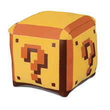 30th Coin Box Plush Toy - Super Mario Brothers - 3 Inch