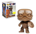 Captain America Funko POP - Marvel - Wood Deco Exclusive
