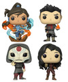Legend of Korra Funko POP - Bundle of 4 - Animation