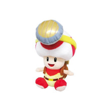 Captain Toad Sitting Plush Toy - Super Mario Brothers - 7 Inch