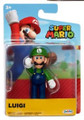 Luigi Action Mini Figure - Super Mario - 2.5 Inch