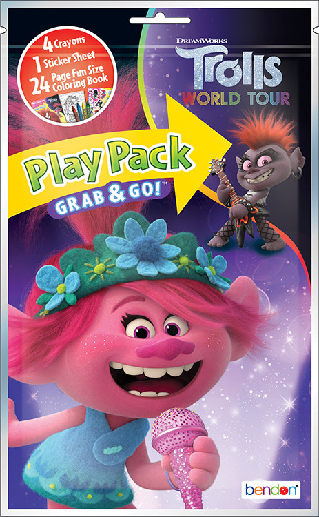 Party Favors - Trolls World Tour - Grab and Go Play Pack - 1ct