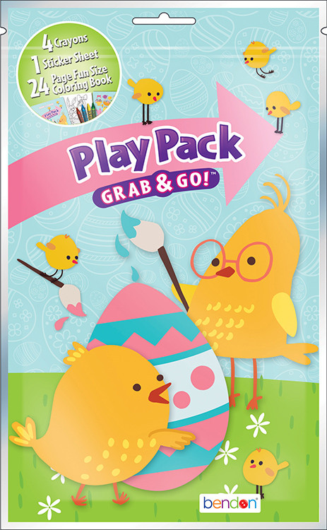 Party Favors - Easter Themed - Grab and Go Play Pack - 1ct