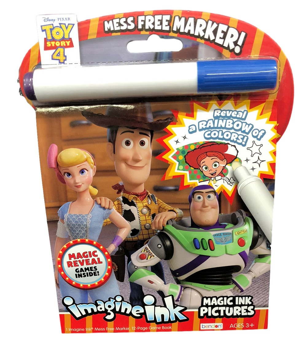 Toy Story Imagine Ink Coloring Book Value Line Bo Peep ...