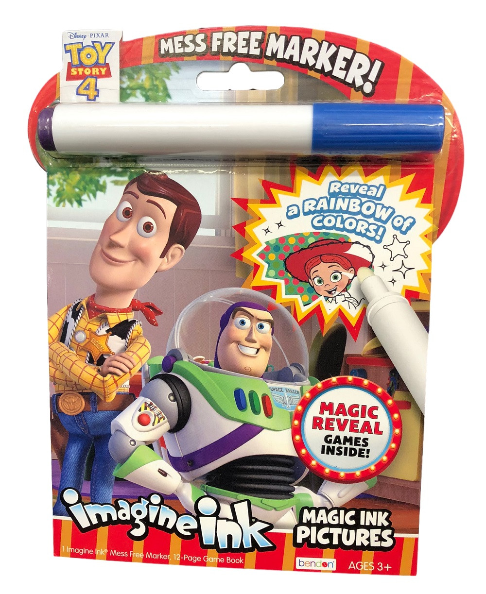 Toy Story Imagine Ink Coloring Book Value Line | Partytoyz.com