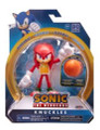 Action Figure - Sonic the Hedgehog - Knuckles - 4 Inch - Wave 3 - Basket Ball