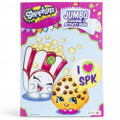 Coloring Book - Shopkins - Party Favors - 96 Pages - Popcorn & Cookie