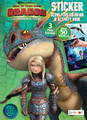 Coloring Book - How to Train Your Dragon 3 - 32P - Sticker Scene Plus Coloring and Activity Book