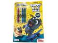 Coloring Book - Puppy Dog Pals - Color and Activity Book w Crayons