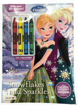 Coloring Book - Frozen - Color and Activity Book w Crayons
