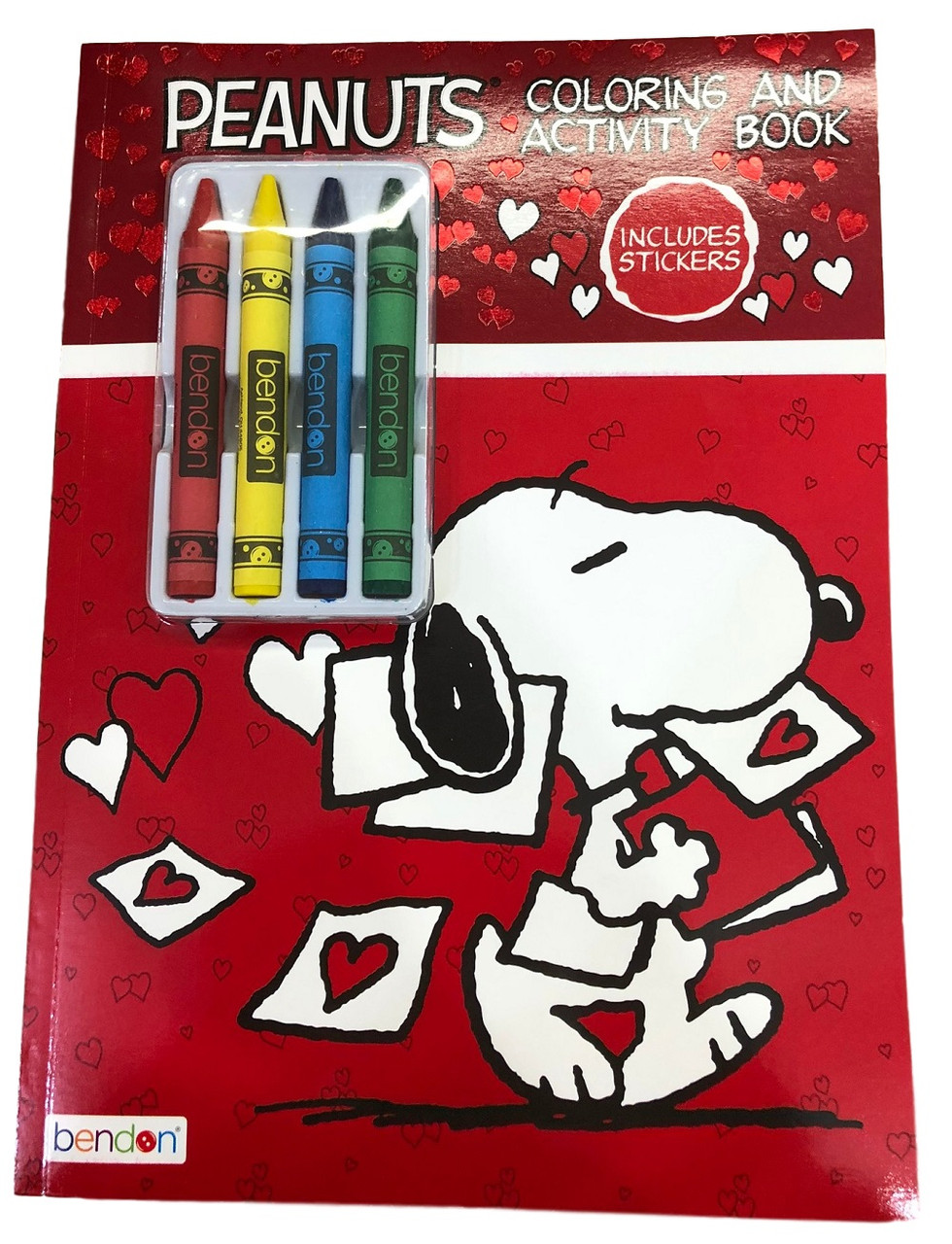 Coloring Book - Snoopy - Color and Activity Book w Crayons
