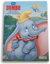Coloring Book - Dumbo - Coloring and Activity Book - 80p - Ears and All