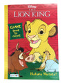 Coloring Book - Lion King - Coloring and Activity Book - 80p - Hakuna Matata