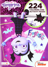 Coloring Book - Vampirina - Coloring and Activity Book - 224p