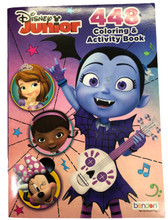Coloring Book - Vampirina - Coloring and Activity Book - 448p