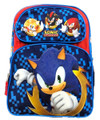 Backpack - Sonic the Hedgehog - Large 16 Inch - Blue