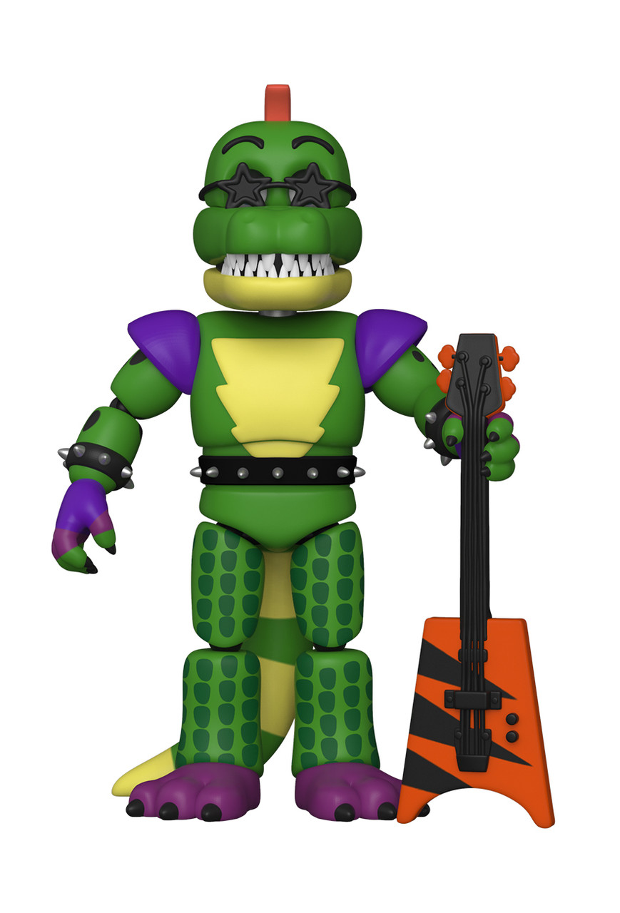 Montgomery Gator Action Figure - Security Breach - Five Nights at Freddy's - FNAF