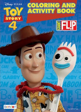 Coloring Book - Toy Story 4 - Jumbo Flip Book to Color - 64p