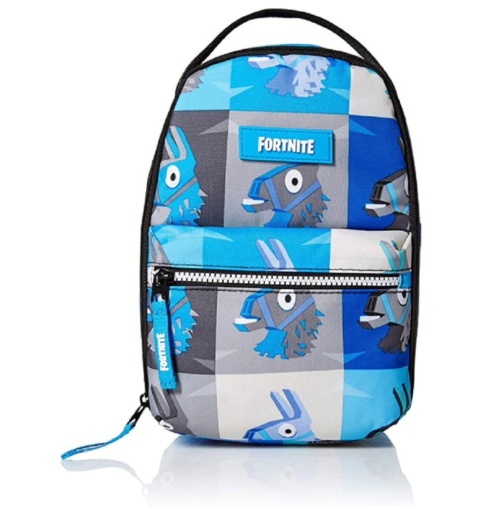 Lunch Bag - Fortnite - Blue - Llama