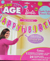 Barbie Jumbo Customizable Banner - Add an Age