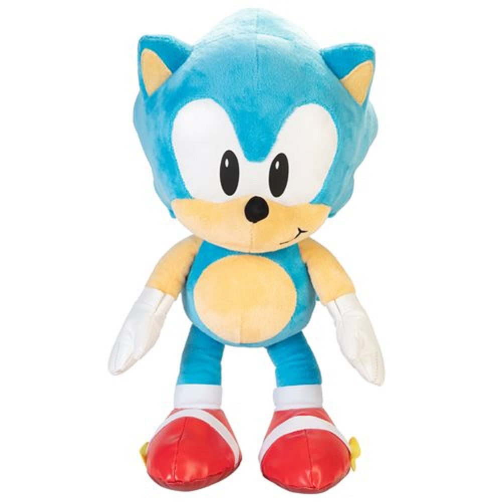 Plush Toy - Sonic the Hedgehog - Sonic - Jumbo 20 Inch - Wave 1