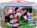 Disney Minnie XL Tin Lunchbox with Window