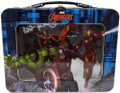 Avengers XL Tin Lunchbox with Window