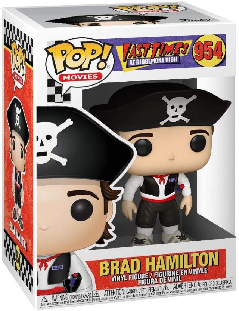 Brad as Pirate Funko POP - Fast Times at Ridgemont High - Movies