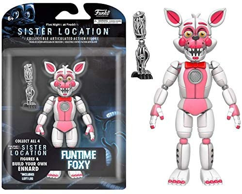 Funtime Foxy Action Figure - Five Nights at Freddy's - Sister Location 5 Inch