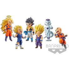 Collab World Collectible Figure Asst vol.2 - Bundle of 6 - Dragon Ball Legends - 2.8 Inch