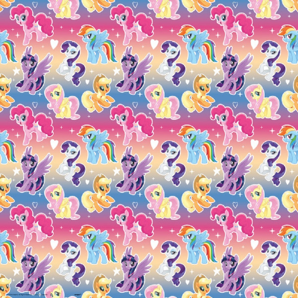 Gift Wrap - My Little Pony - 30 Inch X 5 Ft - Paper - 1 Roll