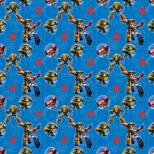Gift Wrap - Transformers - 30 Inch X 5 Ft - Paper - 1 Roll