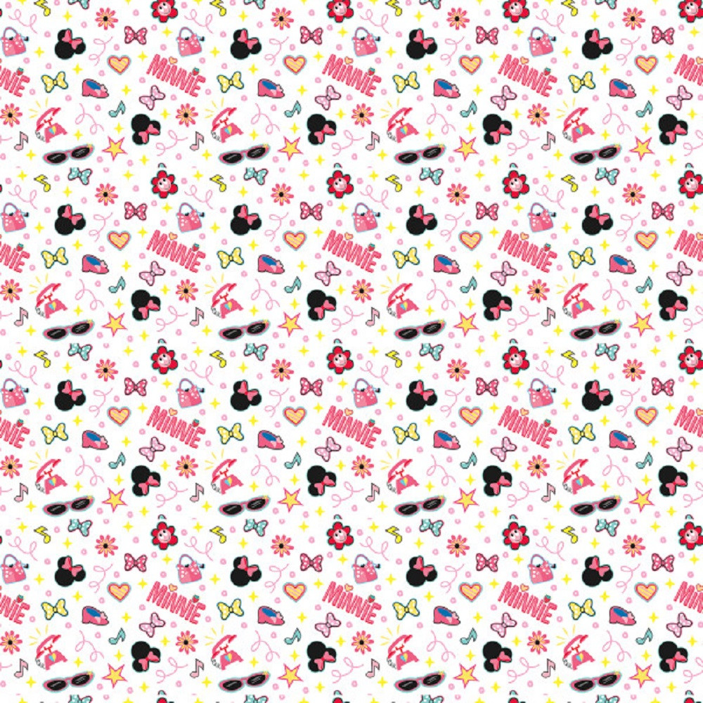Gift Wrap - Minnie Mouse - 30 Inch X 5 Ft - Paper - 1 Roll